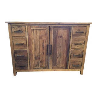 Solid Reclaimed Wood Cabinet