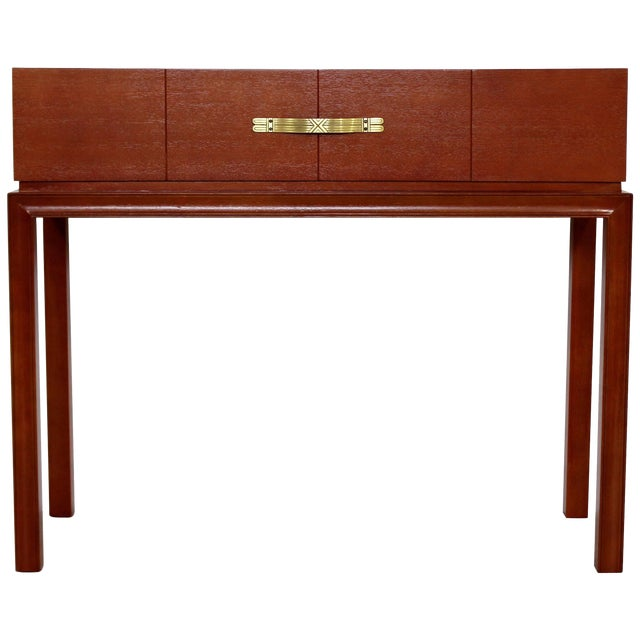 Mid-Century Modern Tommi Parzinger for Charak Console Foyer Table, 1950s For Sale
