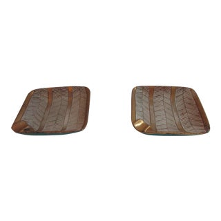 Mid-Century Italian Ashtrays - A Pair For Sale