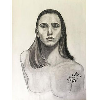 1950 Portrait of a Woman by Costello For Sale