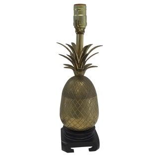 Classic Brass Pineapple Lamp