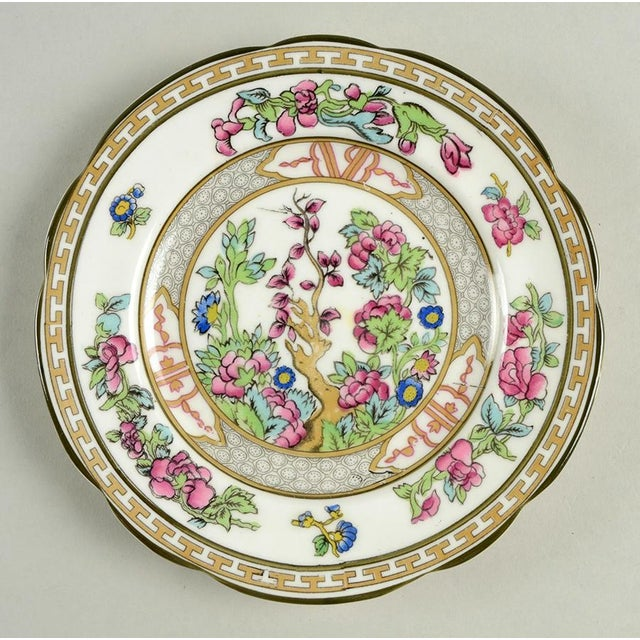 Paragon Indian Tree Small Plates Set of 10 features the traditional oriental designed branch and floral theme and a...