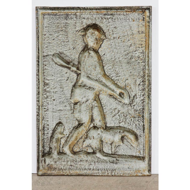 19th Century Cast Iron Hunt Plaque For Sale In San Francisco - Image 6 of 10