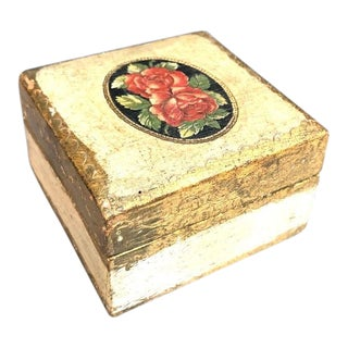 1950s Florentia Jewelry Box For Sale