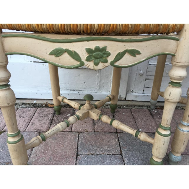 French Ladderback Chairs - A Pair For Sale In Miami - Image 6 of 8