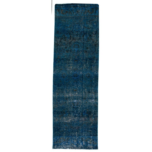 21st Century Modern Overdyed Rug For Sale In New York - Image 6 of 6