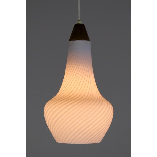 A Pair of Mid Century Pendant Lights - Image 6 of 8