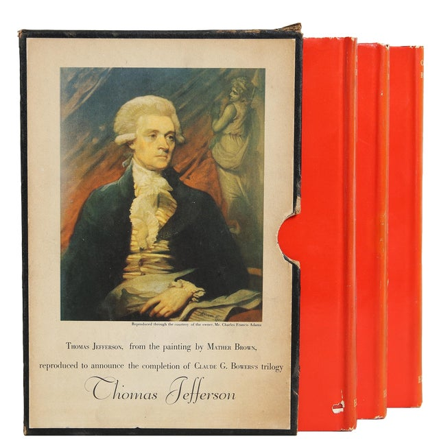 "1925 ""Slipcased Edition, Thomas Jefferson, S/3"" Collectible Book For Sale"