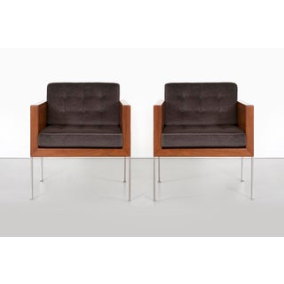 Pair of Mid-Century Modern Harvey Probber Architectural Series Cube Chairs Preview