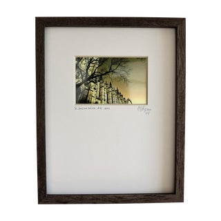 Limited Edition Framed Architectural Photography by C. Damien Fox For Sale