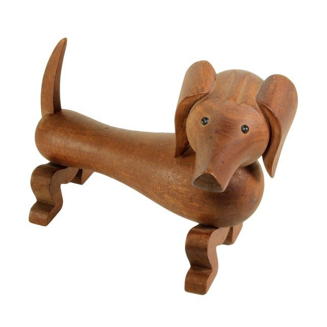 Kay Bojesen Wooden Toy Dachsund For Sale - Image 5 of 8