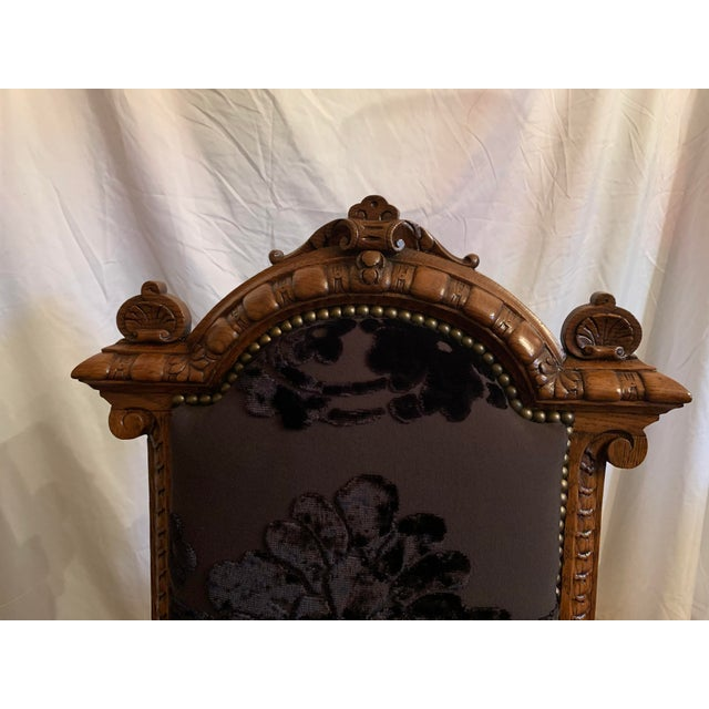 Late 19th Century Renaissance Revival Dining Chairs Set of 12 For Sale - Image 5 of 13