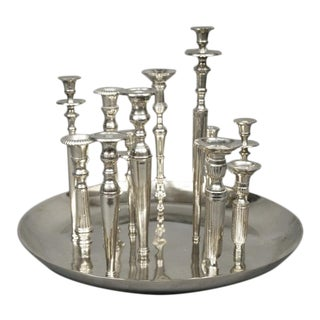 Italian Candleholder Centerpiece For Sale