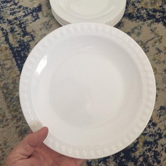 Vintage Corning Pyroceram Tableware White Dessert Plates - Set of 6 - Image 8 of 11