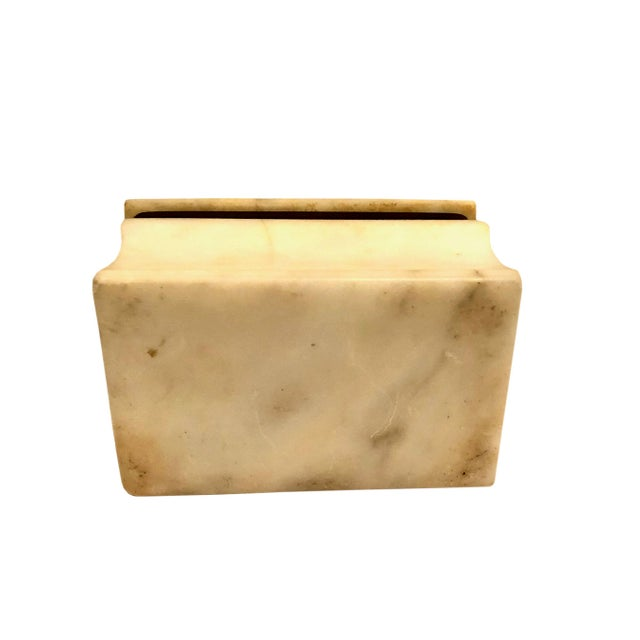 1940s 1940s Italian Marble Box For Sale - Image 5 of 8