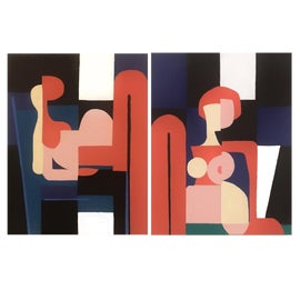 Image of Art Deco Paintings