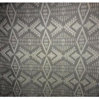 Pindler for Pendleton Southwestern River Tonal Char Fabric For Sale
