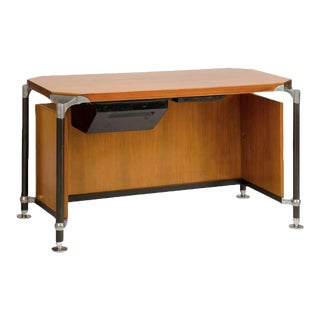 1970s Italian Ico Parisi Executive Desk For Sale