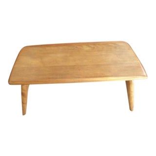 Vintage Mid-Century Modern Heywood Wakefield Maple Coffee Table