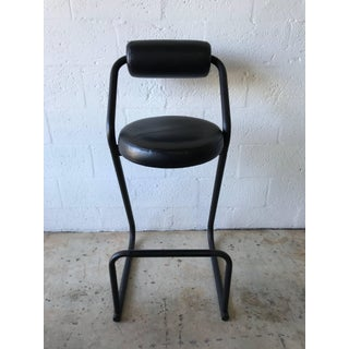 Set of Four Post-Modern Amisco Barstools for Créations Gibo Preview