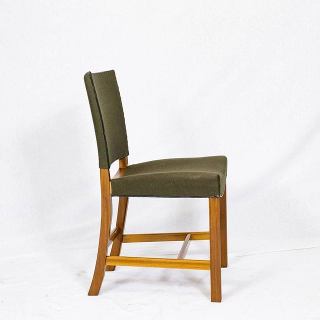 1940s Set of Ten Kaare Klint Dining Chairs For Sale - Image 5 of 10