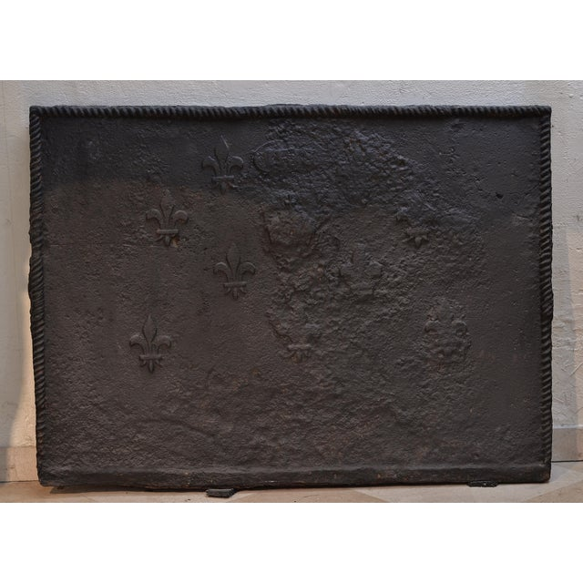 Late 18th Century Amazing Rough 18th Century Fireback For Sale - Image 5 of 5