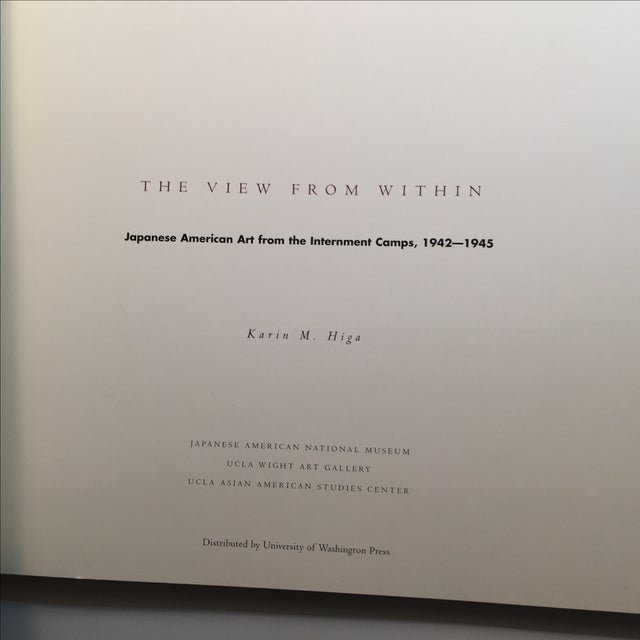 """Asian """"The View From Within"""" Japanese American Art Book 1942-45 For Sale - Image 3 of 8"""
