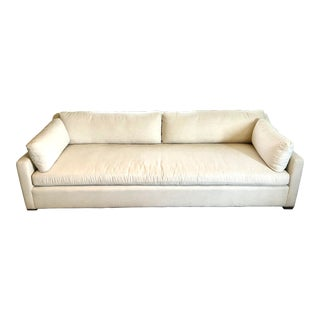 Restoration Hardware Belgian Classic Slope Arm Sofa For Sale