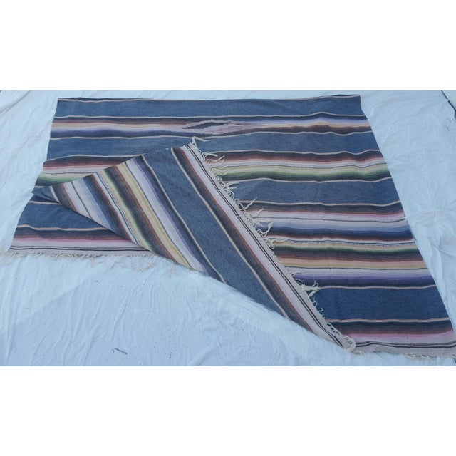 Mexican Serape Throws - A Pair - Image 4 of 4