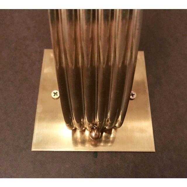 Metal Italian Art Deco Fabio Ltd Sconce For Sale - Image 7 of 8