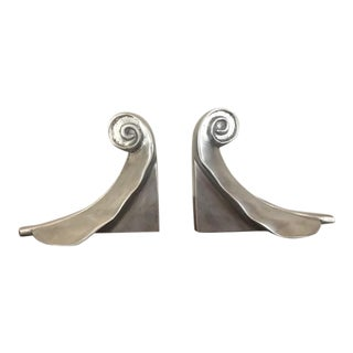 1970s Art Deco Bookends - a Pair For Sale
