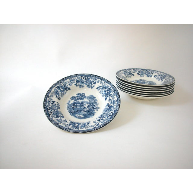 Blue & White Royal Staffordshire Bowls - Set of 8 - Image 8 of 11