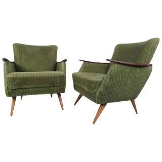 Unique Vintage Modern Danish Lounge Chairs For Sale