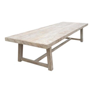 Teak Outdoor Dining Table For Sale