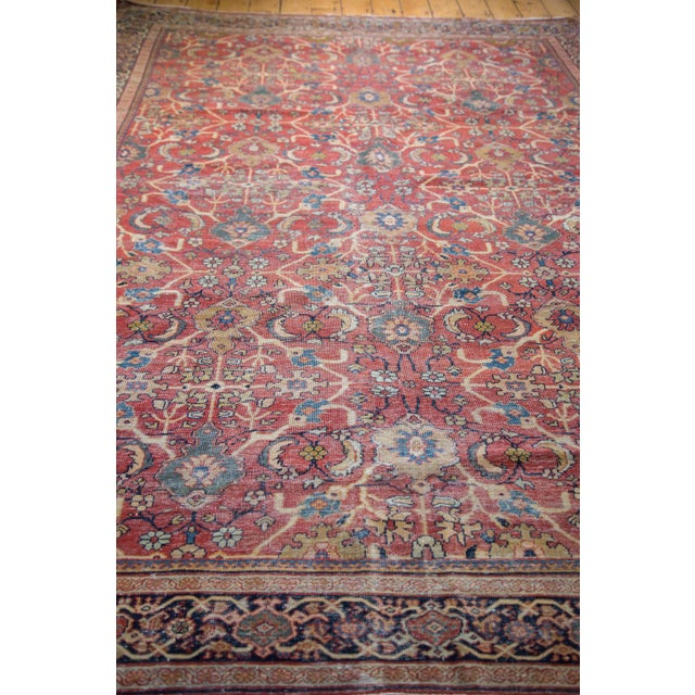 "Antique Persian Mahal Carpet - 7'1"" x 10'1"" - Image 2 of 9"