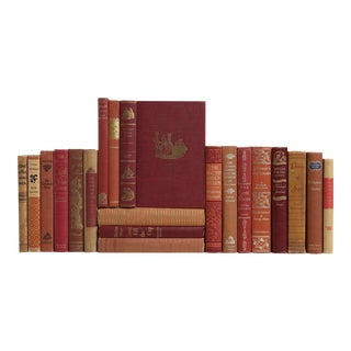 Mid-Century Readings in Red & Brown - Set of 20