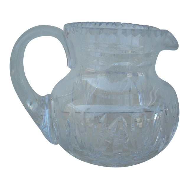 Cut Crystal Water Pitcher For Sale