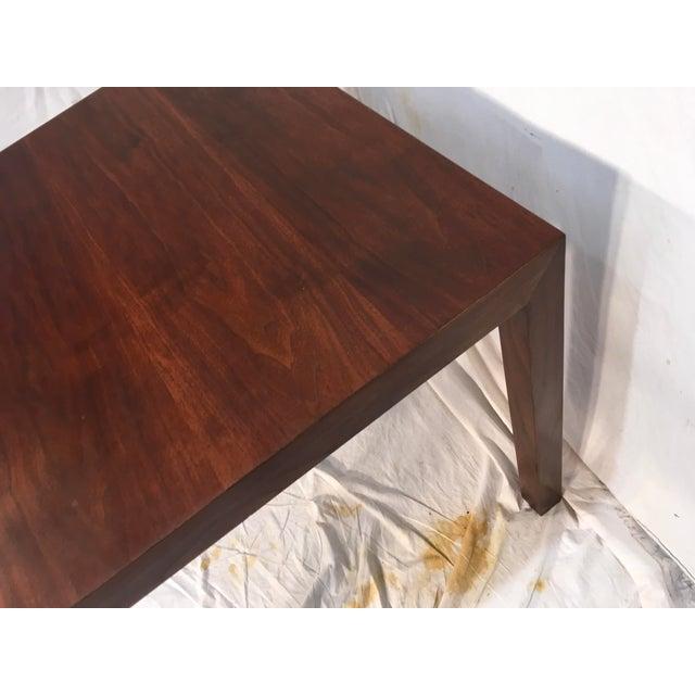 Edward Wormley Walnut Side Table - Image 10 of 11