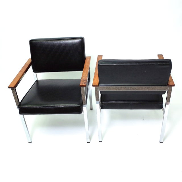Knoll 900 Executive Art Metal Inc Chairs - a Pair - Image 5 of 7