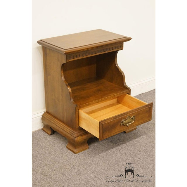 Maple Ethan Allen Classic Manor Cabinet Nightstand For Sale - Image 7 of 13