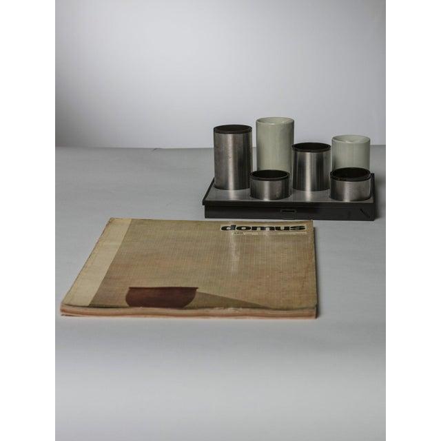 "Roberto Sambonet ""Scacchiera"" Centerpiece by Sambonet For Sale - Image 4 of 5"