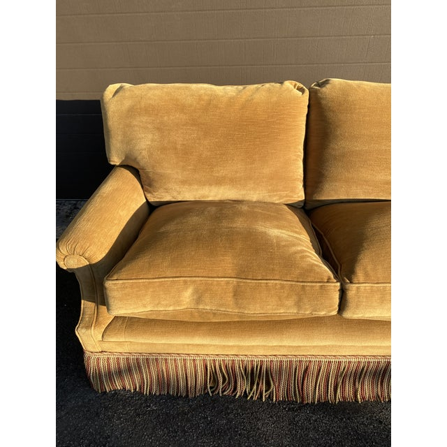 English George Smith Laidback Arm Sofa For Sale - Image 3 of 8