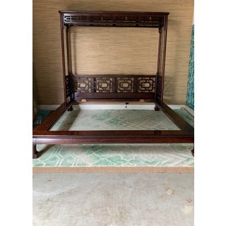 Vintage Chippendale Ming King Bedframe Preview