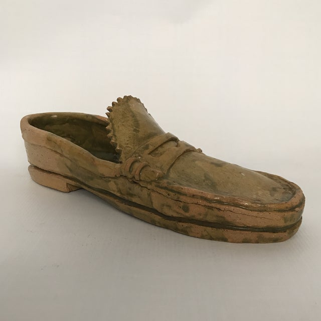 Pottery Loafer Sculpture For Sale - Image 11 of 11