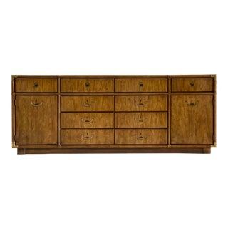 1970s Vintage Drexel Campaign Accolade Dresser For Sale