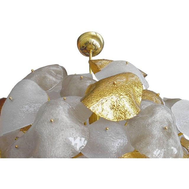 Metal Nube Chandelier by Fabio Ltd For Sale - Image 7 of 8