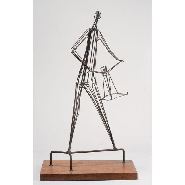 Kinetic Wrought Iron Sculpture by Robert Kuntz - Image 3 of 5