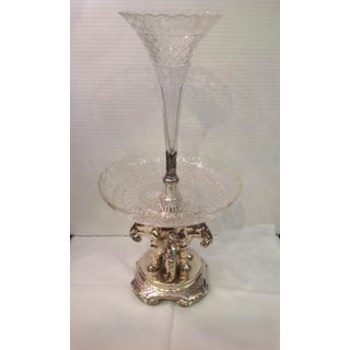 Superb 19th Century Anglo-Indian Style Elephant Motif Centerpiece / Epergne Preview