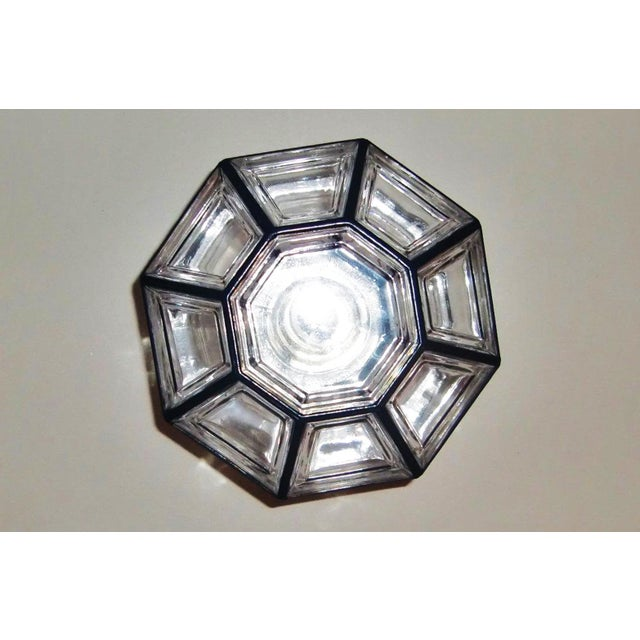 Ceiling lamp by Glashütte Limburg For Sale - Image 6 of 11
