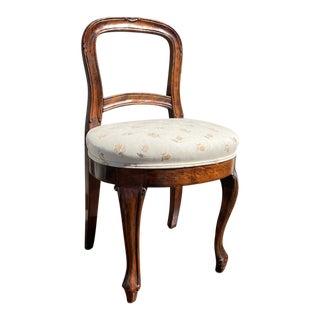 19th Century Vintage Salon Chair For Sale